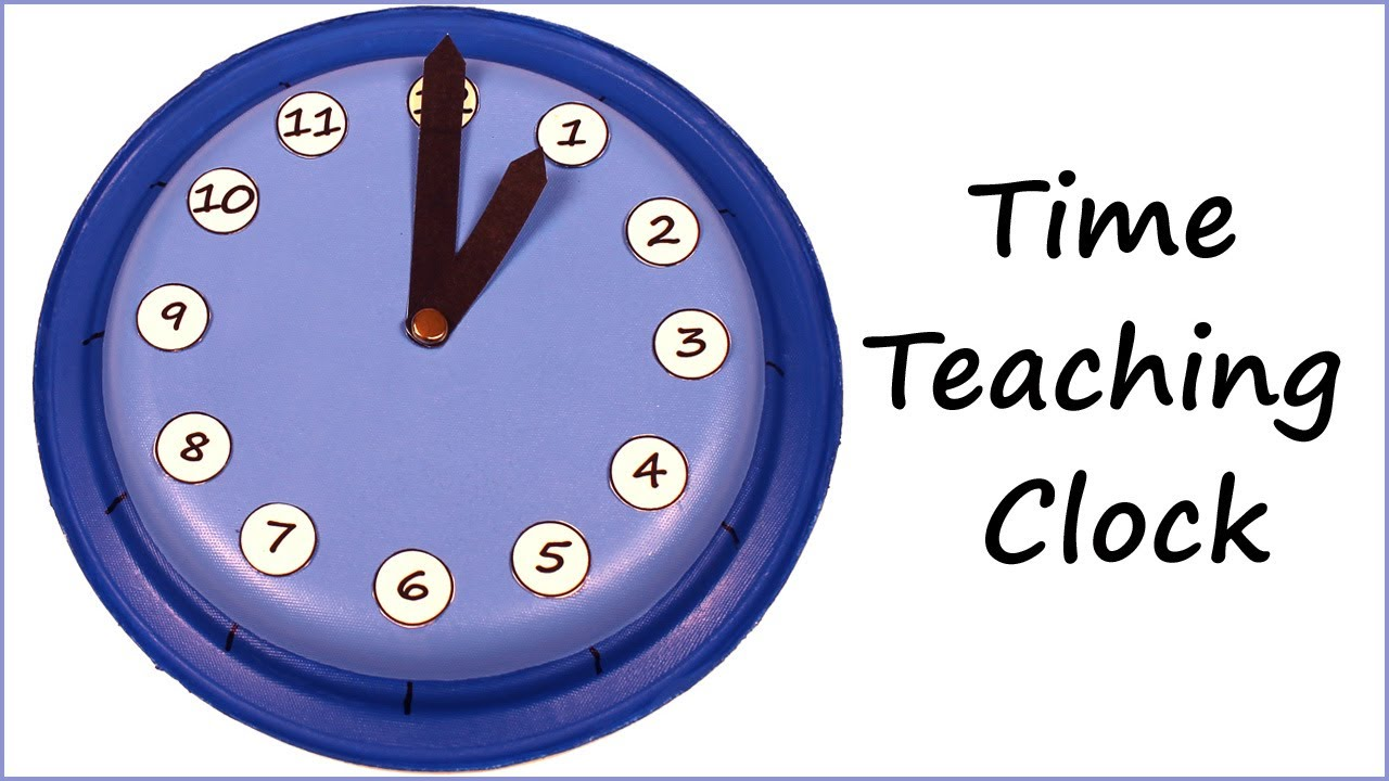 Worksheet How To Tell Time clock for learning how to tell time youtube