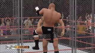WWE 2K16 - Triple Threat Steel Cage Match | Undertaker vs Triple H vs Big Show Gameplay (HD)
