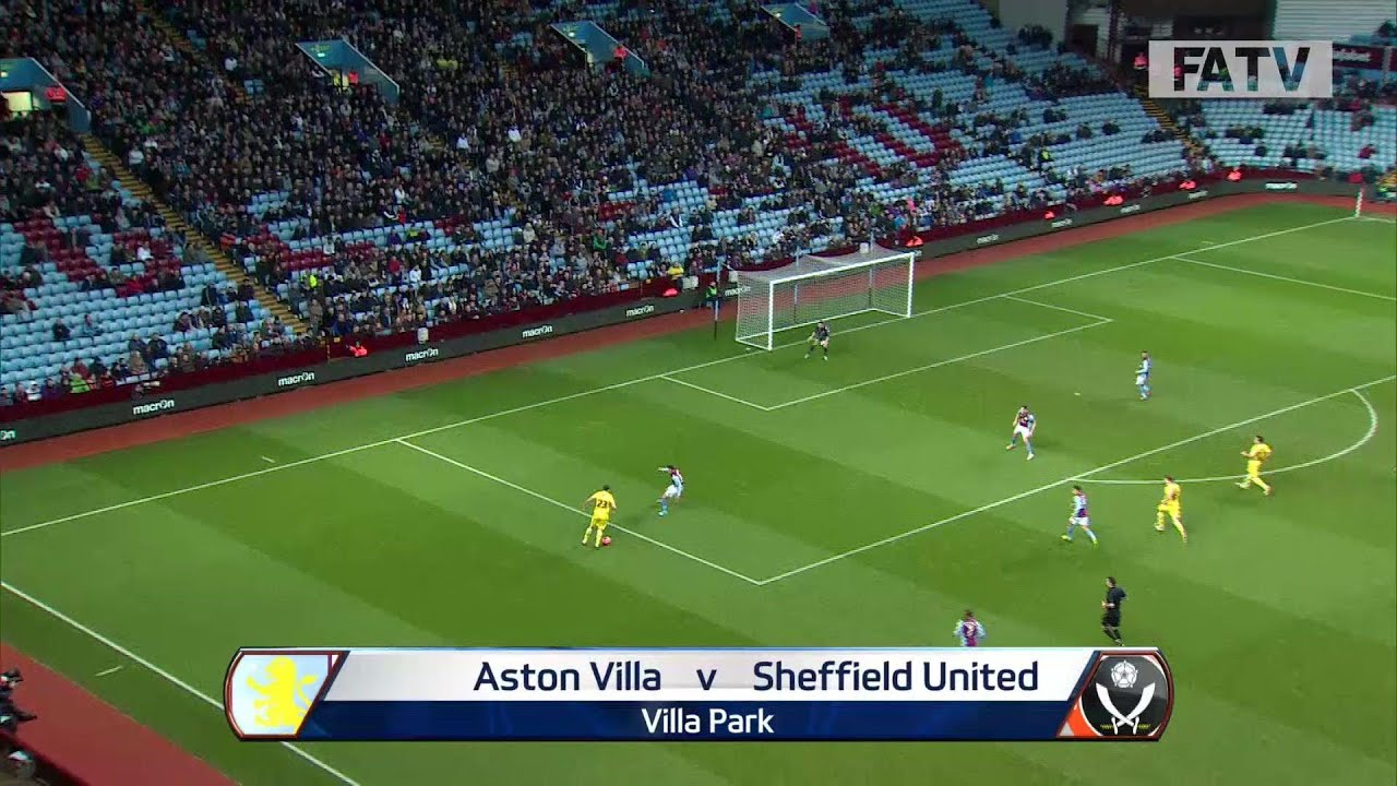 ASTON VILLA vs SHEFFIELD UNITED 1-2: Official Goals & Highlights FA Cup Third Round