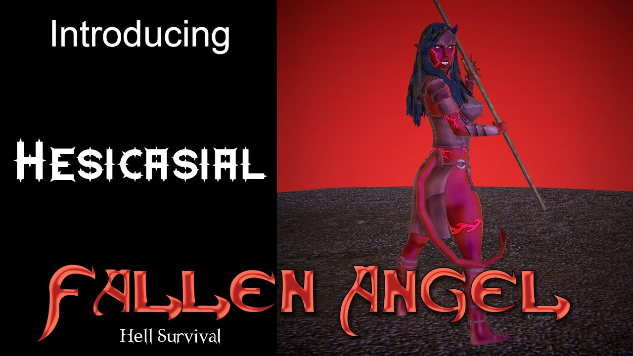 Fallen Angel Hell Survival UPDATE: Introducing the new Hesicasial Character