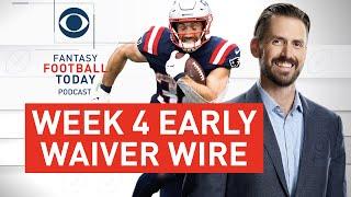 Week 4 Early WAIVER WIRE TARGETS + Winners/Losers | 2020 Fantasy Football