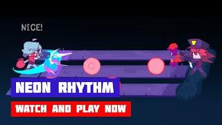 Neon Rhythm · Walkthrough 100% · All Boss Fights · Friday Night Funkin' BUT SCI-FI