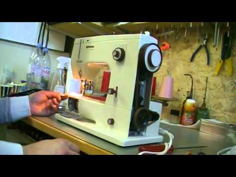 40revision YouTube Cool Bernina 807 Sewing Machine