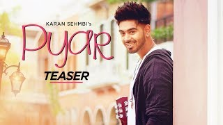 Song Teaser ►PYAR: Karan Sehmbi, Tanishq Kaur | Desi Routz | Releasing On 31 October