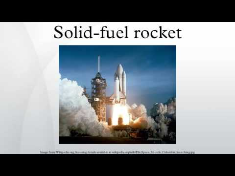 Solid-fuel rocket