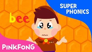 ee | Bee Bee Oh My Bee | Super Phonics | Pinkfong Songs for Children