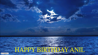 Anil  Moon La Luna - Happy Birthday