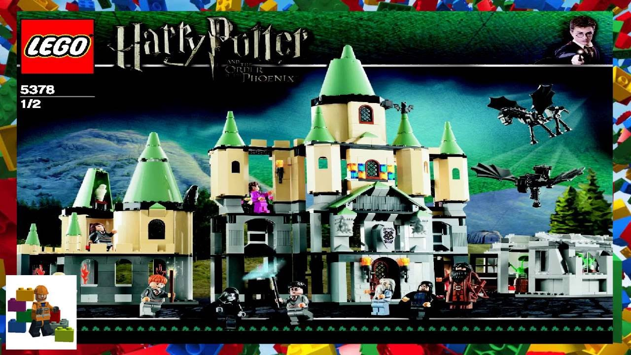 Lego Instructions Harry Potter 5378 Hogwarts Castle Book 1