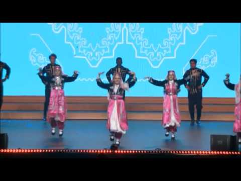 USA & Kazakhstan #Traditional Folk Dance #IFLC2016 @Rumi Forum @intFLC