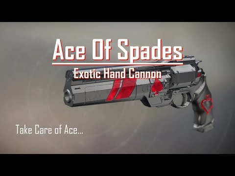 For Cayde... - Ace of Spades - PVE PVP Gameplay Review