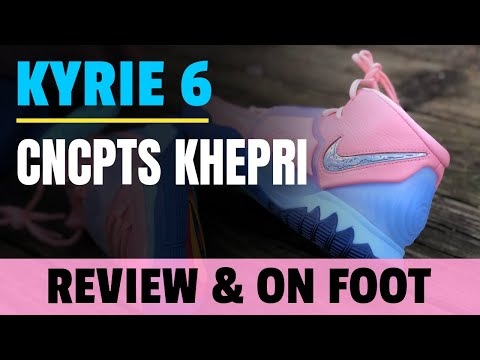 CNCPTS NIKE KYRIE 6 KHEPRI REVIEW & ON FOOT IN 4K WITH LIMITED BOX