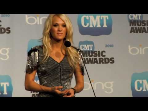 Carrie Underwood Interview 2010 CMT Music Awards