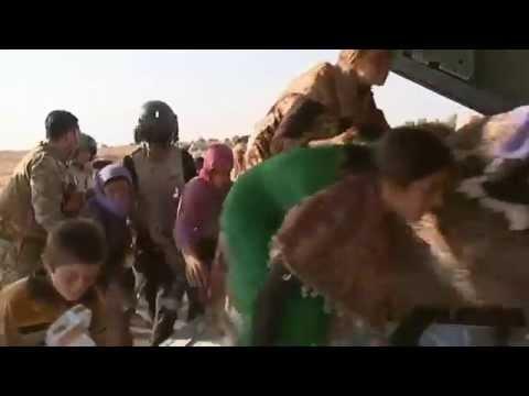 The desperate struggle to save Iraq's stranded Yazidis