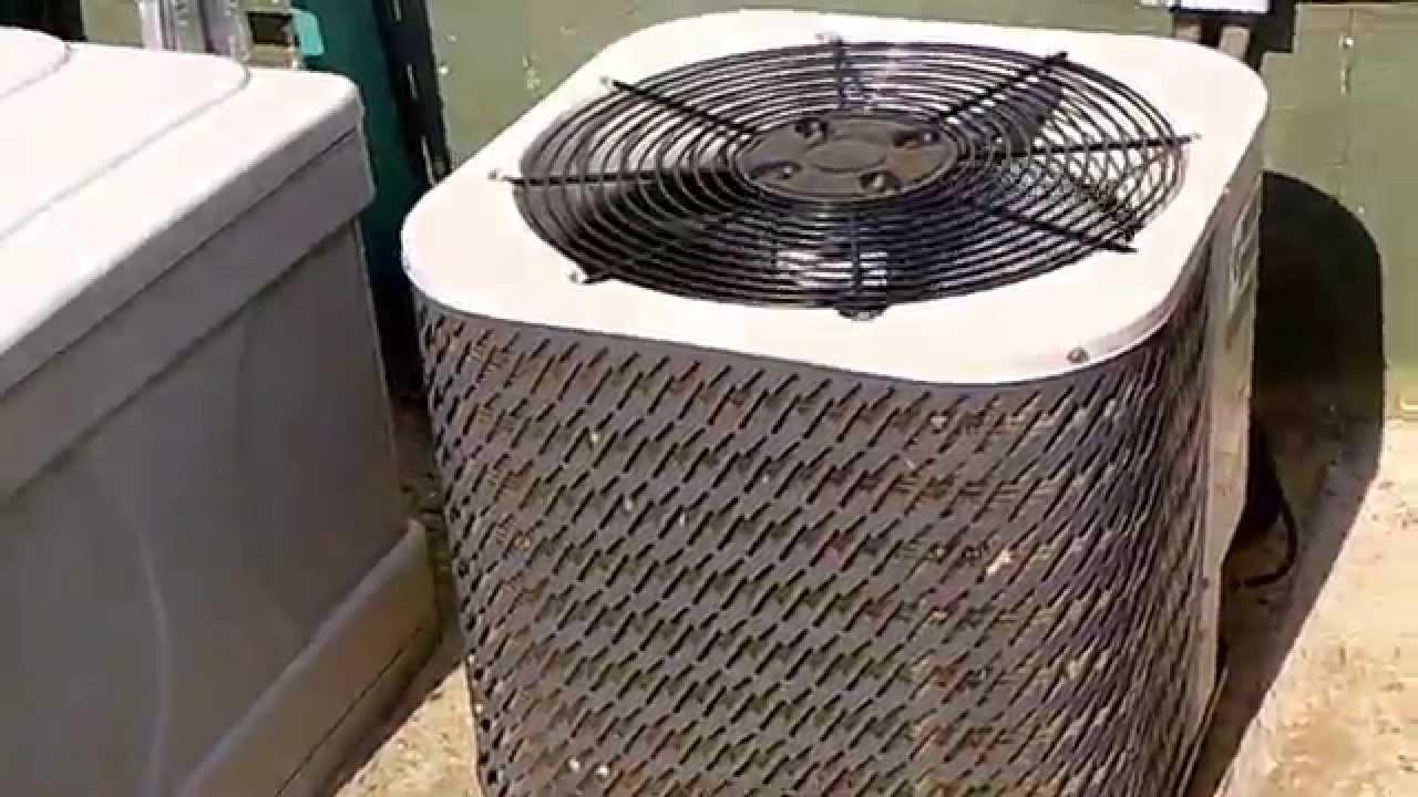 Gibson Nordyne Air Conditioner 2 6 16 14 Youtube Handler Wiring Diagram
