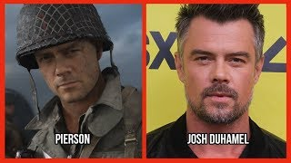 Characters and Voice Actors - Call of Duty: WWII