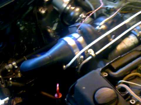 Mb OM605 compound turbo