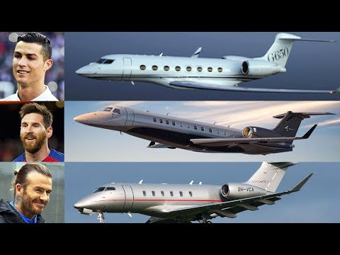10 Most Expensive And Luxurious Private Jets Of Football Players |