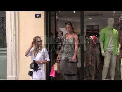 EXCLUSIVE: French ACTRESS Nora Arnezeder walk in Saint Tropez