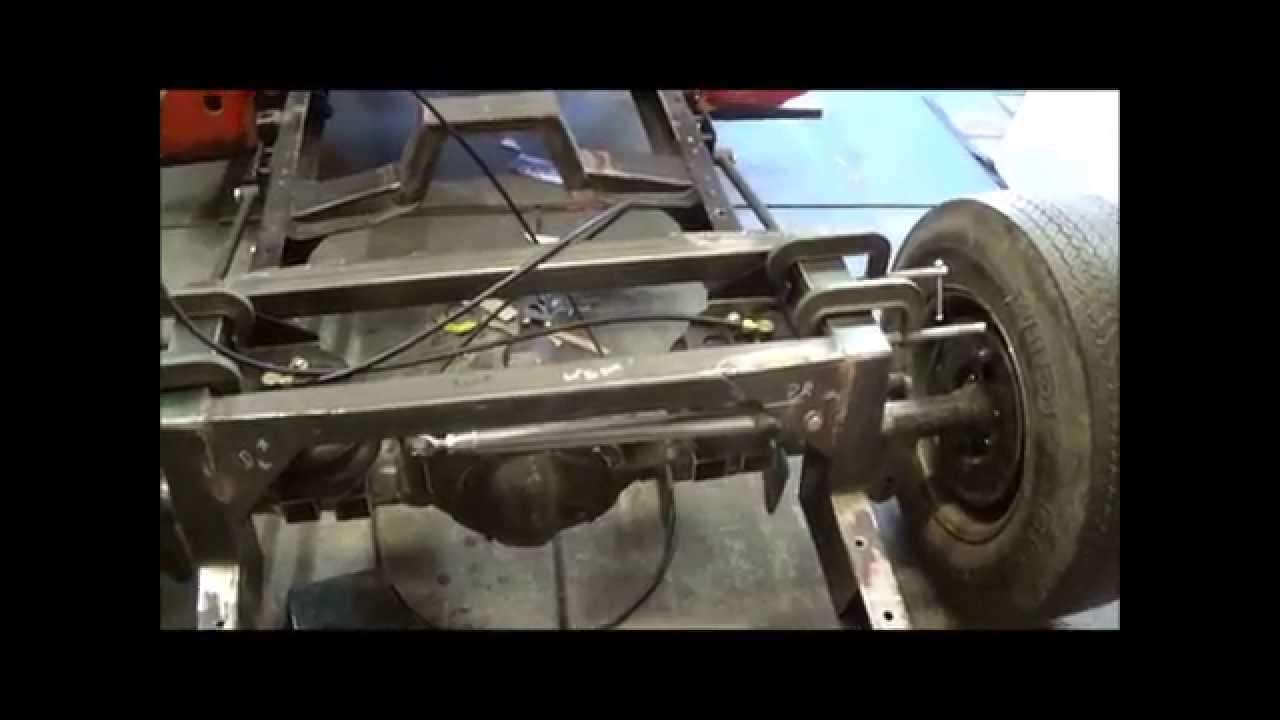 Monday More F100 Rear Suspension Work Youtube 1955 Ford
