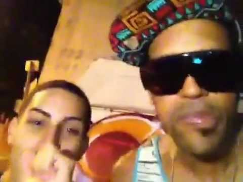 Lafa Taylor latenight cypher on the streets of Puerto Rico