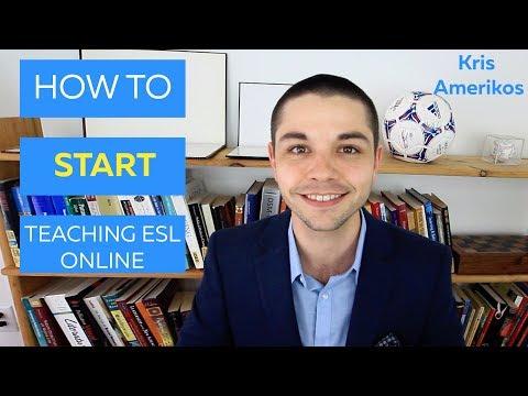 Teaching ESL Online TEFL Online How to Start Teaching Online