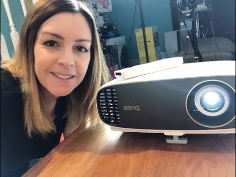 BenQ 4K home theatre projector blogger review