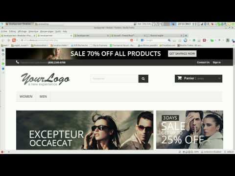 Présentation de Prestashop CMS e-commerce  open source