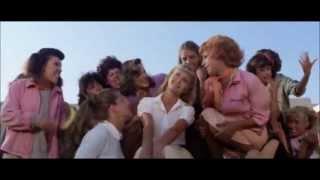 John Travolta y Olivia newton grease Summer Nights HD español