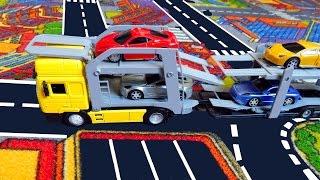 Мультики про машинки - Автовоз. Розвиваючий мультфільм для дітей