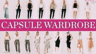 Casual Summer Capsule Wardrobe