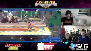ADHD (Diddy Kong) vs Tweek (Bowser Jr.) - Collision XII