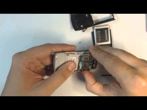 Samsung C3050 disassembly