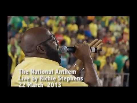 Jamaica National Anthem - Richie Stevens