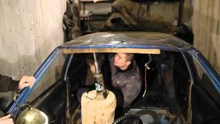 Восстановление перевертыша ВАЗ 2115, не имея опыта. Часть 2- Вытягиваем крышу.