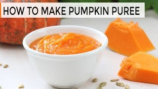 How-to Make Pumpkin Puree - Clean & Delicious®