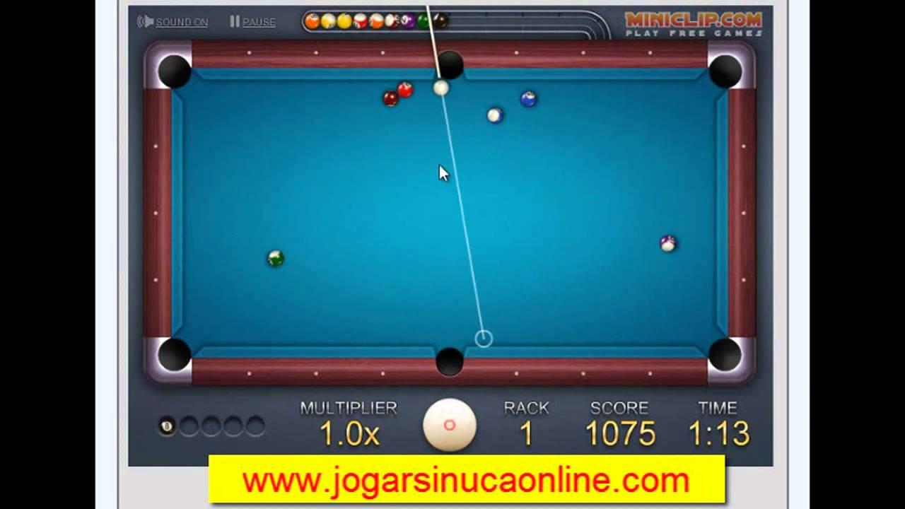 Billiards jogos de sinuca