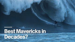 Surfing Giant Mavericks: The Best Winter In 20 Years? - The Inertia
