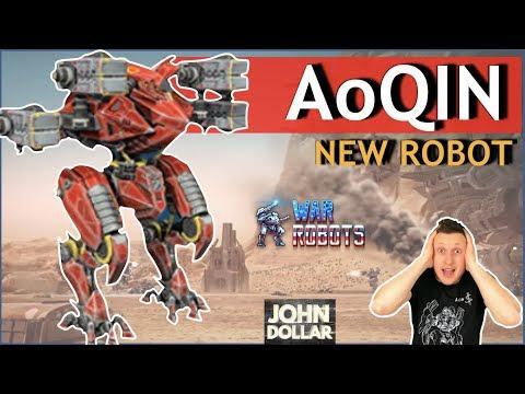 War Robots - Ao Qin!Летающий дракон!