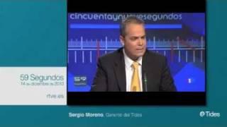 Sergio Moreno Gil en 59 Segundos rtve.es