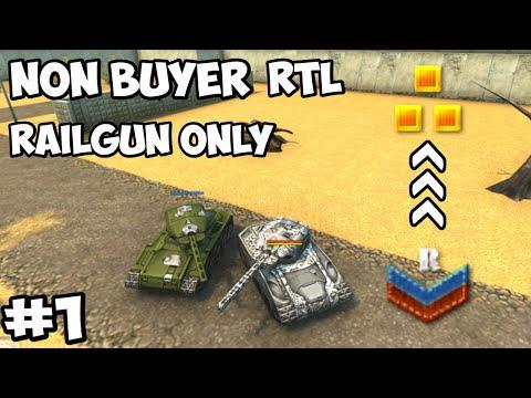 Tanki Online - Non-Buyer RTL #1   Railgun Only