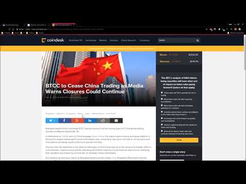 CHINA macht ERNST - Kryptowährung aktuell
