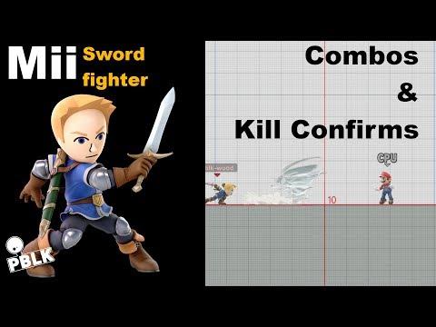 Smash Bros. Ultimate - Mii Swordfighter Combo Guide thumbnail