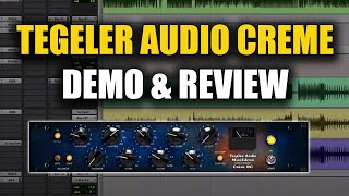 Tegeler Audio Crème Compressor/EQ Review & Giveaway - Warren Huart: Produce Like A Pro