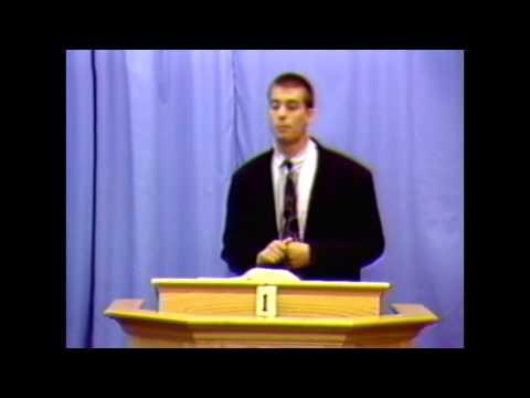 Jesse Boyd, Very Early Sermons I John 4:1
