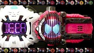 仮面ライダージオウ 【DXディケイドライドウォッチ】レジェンドライダー ライドウォッチ Kamen Rider Zi-O 【DX Decade Ridewatch】