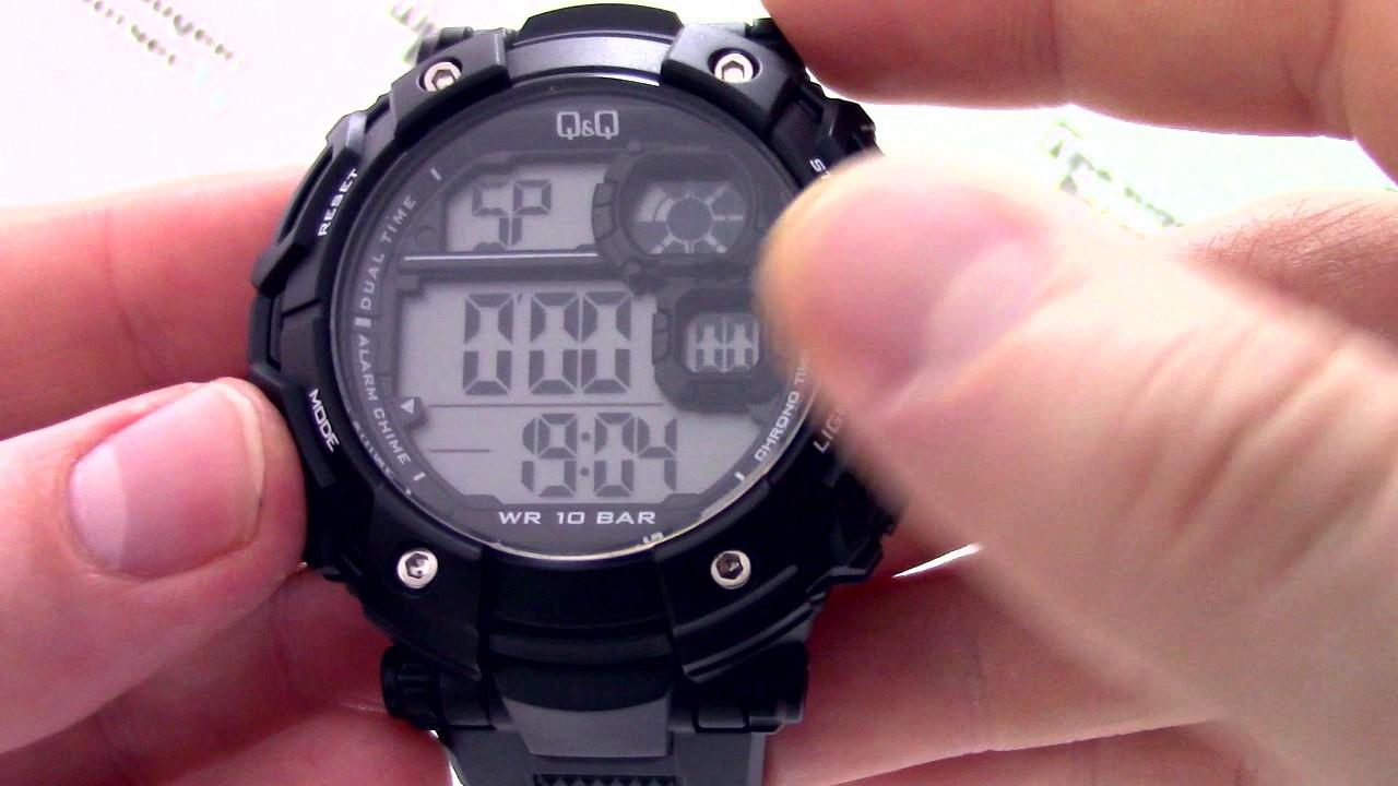 c346d684 Часы Q&Q M150-003 [M150 J003] - Инструкция, как настроить от  PresidentWatches.Ru