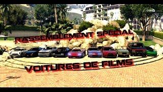 Rassemblement GTA 5 online sur le thème des voitures de films