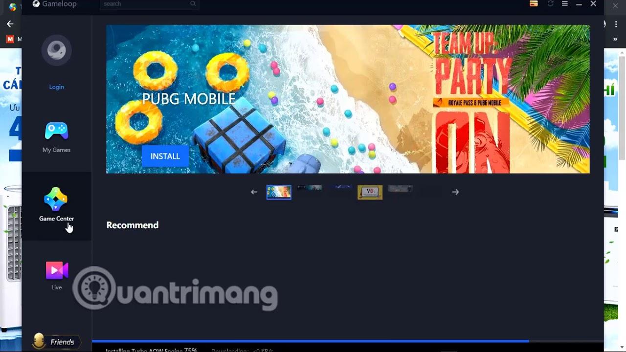 Hướng dẫn cài và chơi game mobile trên giả lập GameLoop