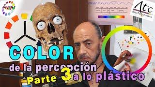 """Abordé con los dos primeros videos de """"COLOR, de la percepción a lo plástico"""" la importancia de la educación de la mirada para sensibilizarse ante la realidad ..."""