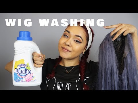 How to Wash Synthetic Wigs | MORBID CHILD